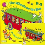 []The Wheels on the Bus Go Round and Round (Paperback + CD 1)