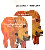 []Brown Bear, Brown Bear, What Do You See? (Boardbook + CD:1)