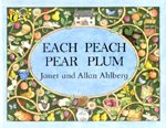 [노부영]Each Peach Pear Plum (Paperback+ CD)