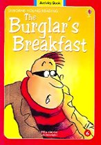 The Burglar's Breakfast Level 1-06 : Activity Book (Paperback+ Audio CD)