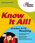 """<font title=""""Know It All! Grades 9-12 Reading (Paperback)"""">Know It All! Grades 9-12 Reading (Paperb...</font>"""
