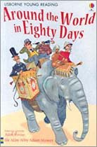 Usborne Young Reading Level 2-05 : Around the World in Eighty Days (Paperback, 영국판)