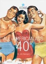All-American Ads of the 40s (Paperback)