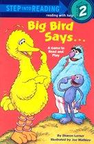 "<font title=""Sesame Big Bird Says... - Step into Reading 2 (Paperback)"">Sesame Big Bird Says... - Step into Read...</font>"