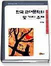 한국 근대문학의 몇가지 주제
