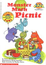 Monster Math Picnic - Hello Math Reader! Level 1 (Paperback)