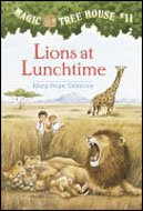 Magic Tree House #11 : Lions At Lunchtime (Paperback)