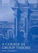 A Course in Group Theory (Paperback)
