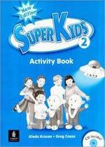 """<font title=""""Superkids Level 2 - Activity Book with CD (New Edtion) """">Superkids Level 2 - Activity Book with C...</font>"""