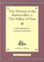 """<font title=""""The Hound of the Baskervilles and The Valley of Fear (Hardcover)"""">The Hound of the Baskervilles and The Va...</font>"""