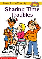 Sharing Time Troubles - Hello Reader! Level 1 (Paperback)