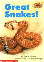 Great Snakes! - Hello Reader! Level 2 (Paperback)