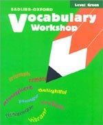 "<font title=""Vocabulary Workshop Level Green - Student Book (New Edition / Paperback)"">Vocabulary Workshop Level Green - Studen...</font>"