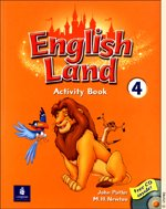 "<font title=""English Land 4 - Activity Book (Paperback+ Audio CD:1)"">English Land 4 - Activity Book (Paperbac...</font>"