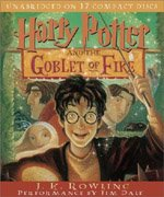 Harry Potter and the Goblet of Fire: Book 4 (Audio CD:17/ Unabridged Edition/ 도서별매)