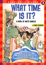 What Time Is It? A Book Of Math Riddles - Hello Math Reader! Level 2 (Paperback)