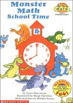 Monster Math School Time - Hello Math Reader! Level 1 (Paperback)