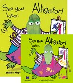 """<font title=""""[노부영] See You Later, Alligator! (Hardcover+ CD 1)"""">[노부영] See You Later, Alligator! (Hard...</font>"""