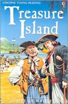 Usborne Young Reading Level 2-25 : Treasure Island (Paperback, 영국판)