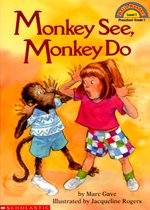 Monkey See, Monkey Do - Hello Reader! Level 1 (Paperback)