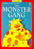 The Monster Gang Level 1-12 : Activity Book (Paperback+ Audio CD)