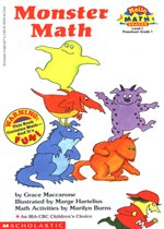 Monster Math -  Hello Math Reader! Level 1 (Paperback)