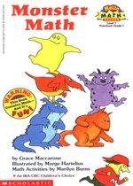 Monster Math -  Hello Math Reader! Level 1 (Paperback)