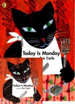 [��ο�]Today Is Monday (Board Book+ CD:1)