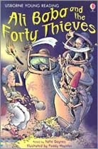 Usborne Young Reading Level 1-03 : Ali Baba and the Forty Thieves (Paperback, 영국판)