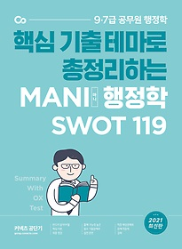 2021 MANI 마니 행정학 핵심테마 SWOT 119