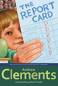 """<font title=""""Andrew Clements #8: The Report Card (Paperback/ Reprint Edition)"""">Andrew Clements #8: The Report Card (Pap...</font>"""