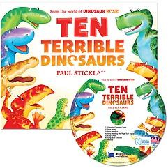"""<font title=""""[노부영] 노부영 Ten Terrible Dinosaurs (Paperback + CD)"""">[노부영] 노부영 Ten Terrible Dinosaurs (...</font>"""