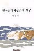 한국근대여성소설 연구