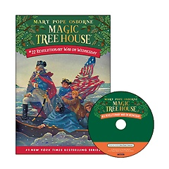 Magic Tree House #22 : Revolutionary War on Wednesday (Paperback+ CD)