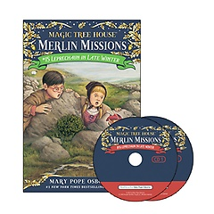 "<font title=""Merlin Mission #15 : Leprechaun in Late Winter (Paperback +CD)"">Merlin Mission #15 : Leprechaun in Late ...</font>"