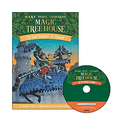 Magic Tree House #02 : The Knight at Dawn (Paperback+ CD)