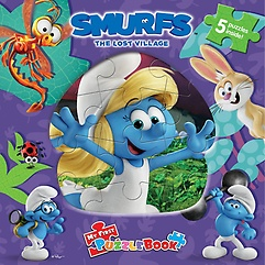 """<font title=""""Smurfs: The Lost Village My First Puzzle Book (Board Book)"""">Smurfs: The Lost Village My First Puzzle...</font>"""