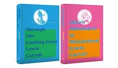 "<font title=""이상한 나라의 앨리스 + 거울 나라의 앨리스 초판본 리커버 고급 벨벳 세트"">이상한 나라의 앨리스 + 거울 나라의 앨리...</font>"