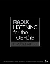 RADIX LISTENING for theTOEFL IBT BLACK LABEL 2