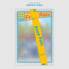 드리핀(DRIPPIN) - Free Pass [1st Single Album][A Ver.]