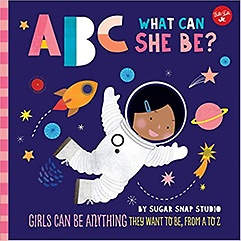 """<font title=""""ABC What Can She Be? (Hardcover / Board Book)"""">ABC What Can She Be? (Hardcover / Board ...</font>"""