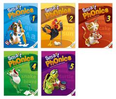 Smart Phonics 1~5 Student Book 패키지 (교재:5+CD:5/ New Ed.)