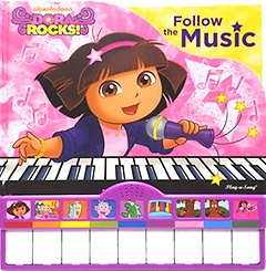 "<font title=""Dora Rocks!: Followe the Music (Board Book)"">Dora Rocks!: Followe the Music (Board Bo...</font>"
