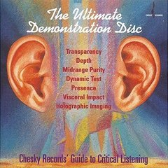 The Ultimate Demonstration Disc(체스키 오디오 테스트 CD)