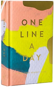 Moglea One Line a Day : A Five-year Memory Book (Paperback)