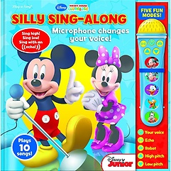 "<font title=""Minnie & Mickey: Voice Changing Microphone Book (Hardcover)"">Minnie & Mickey: Voice Changing Micropho...</font>"