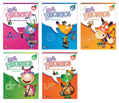 New EFL Phonics 1~5 Student Book 패키지 (교재:5)