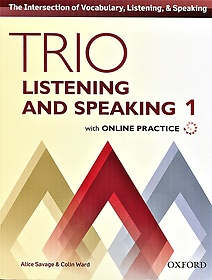 """<font title=""""Trio Listening and Speaking 1 Studentbook with Online Practice (Paperback)"""">Trio Listening and Speaking 1 Studentboo...</font>"""