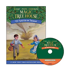 Magic Tree House #23 : Twister on Tuesday (Paperback+ CD)