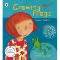 Growing Frogs (Paperback +CD)